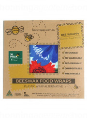 Bee Wrappy - food wraps - Xlarge, økologisk